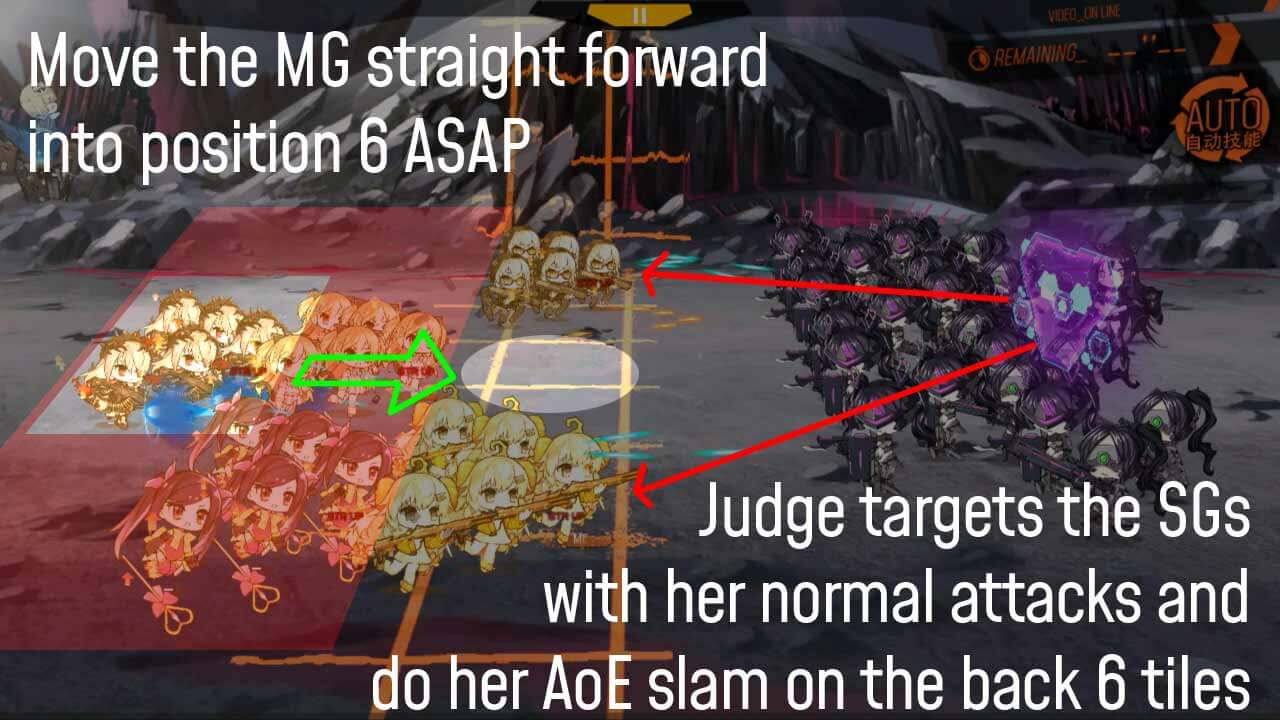 Miniguide for Judge fight in Chapter 10-6