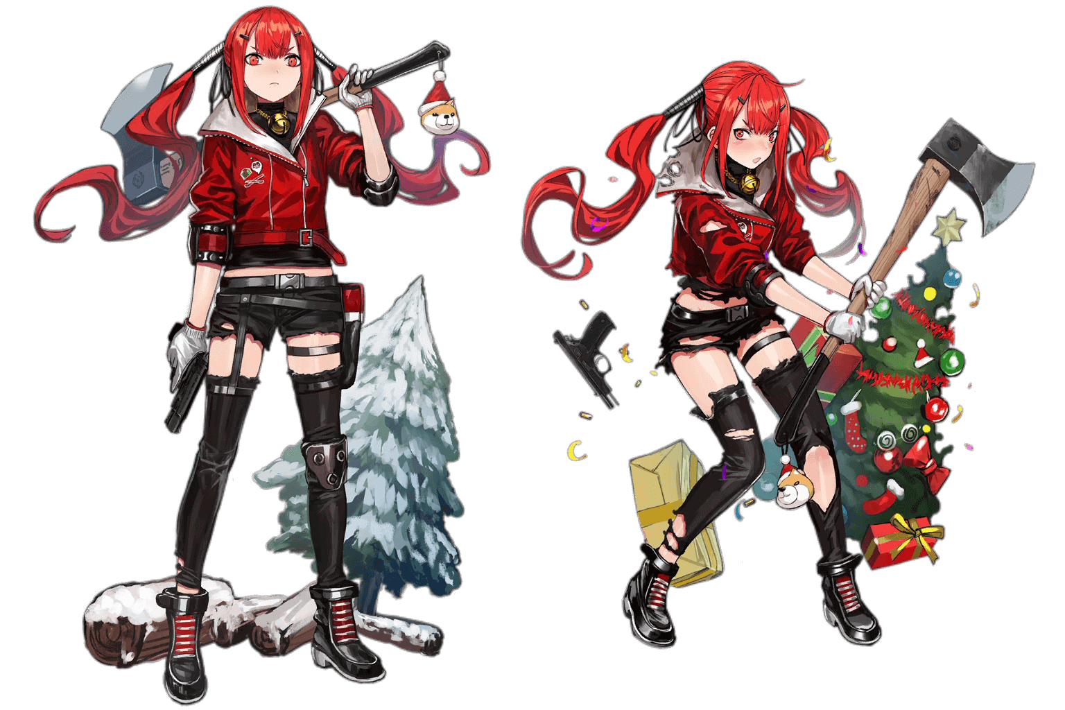 "CZ75's ""Winter Forager"" Costume"
