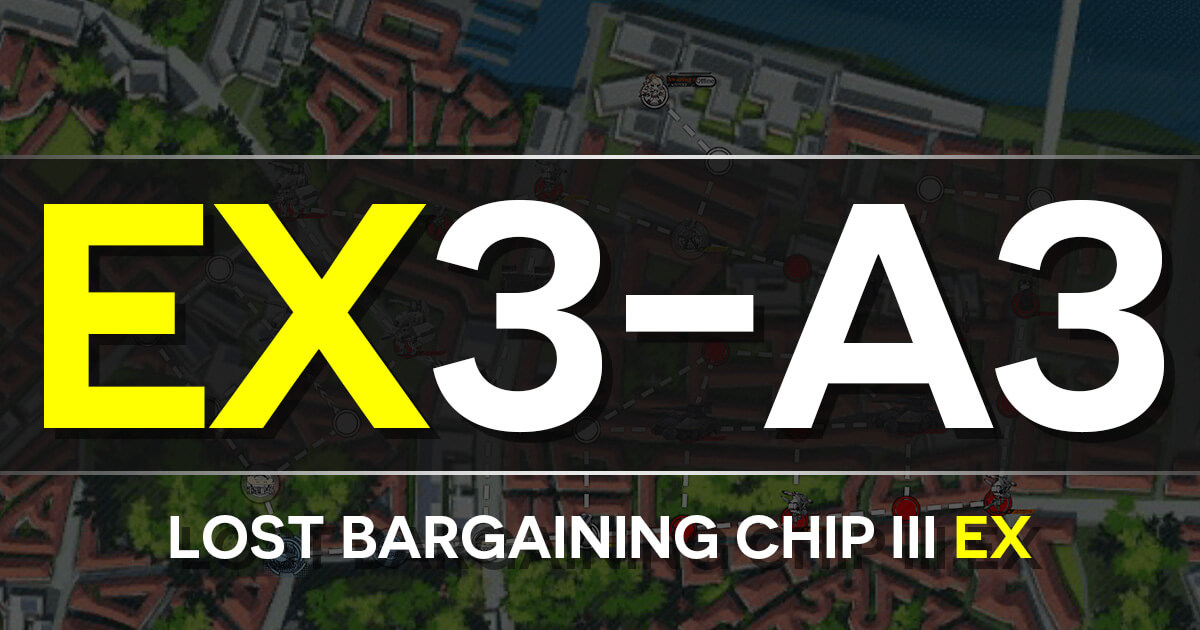 A guide to Isomer Chapter E3-A1: Lost Bargaining Chip III EX