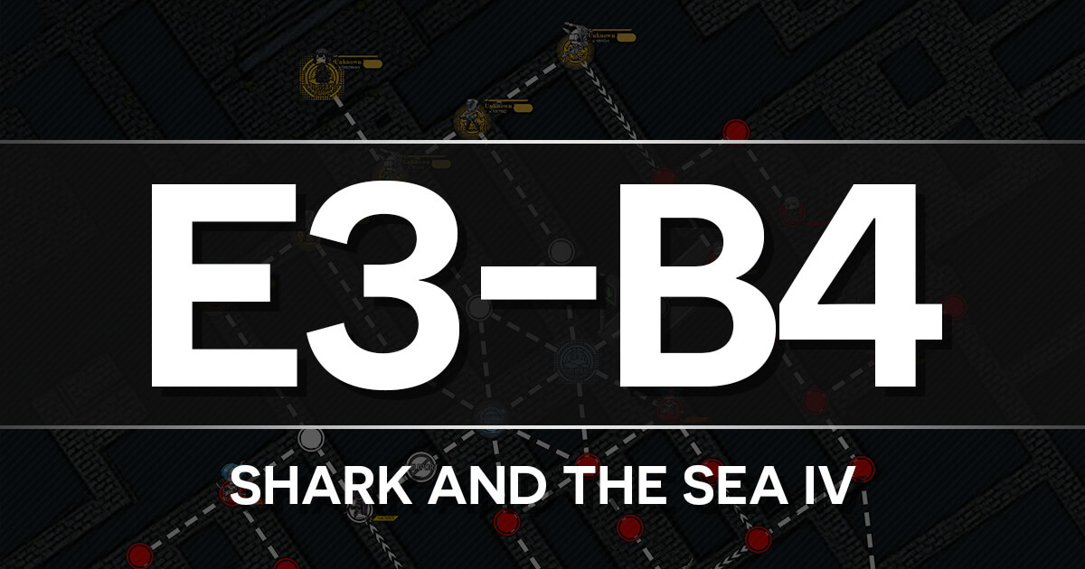 A guide to Isomer Chapter E3-B4: Shark and Sea Battle IV
