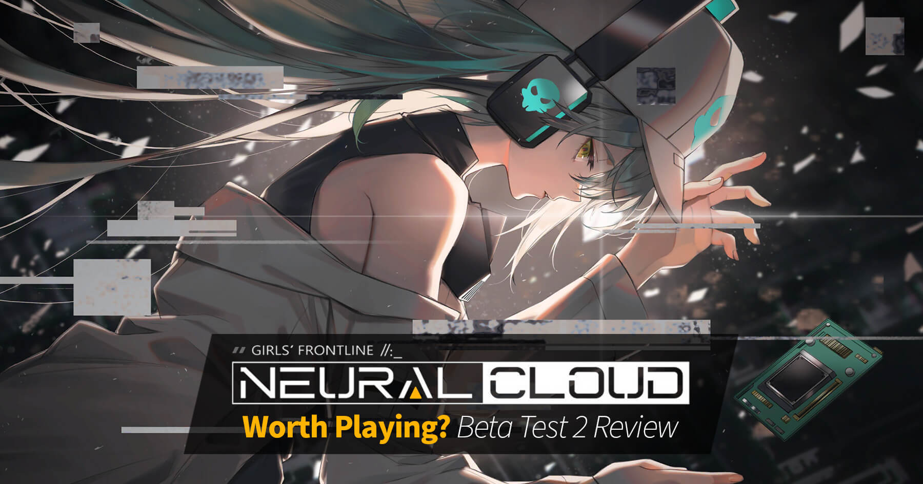 "Is ""Girls' Frontline: Project Neural Cloud"" worth playing? Banner featuring a CG showcasing Antonina"