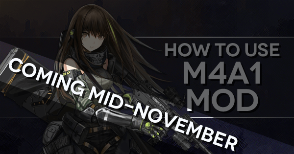 How to use M4A1 Mod teaser banner