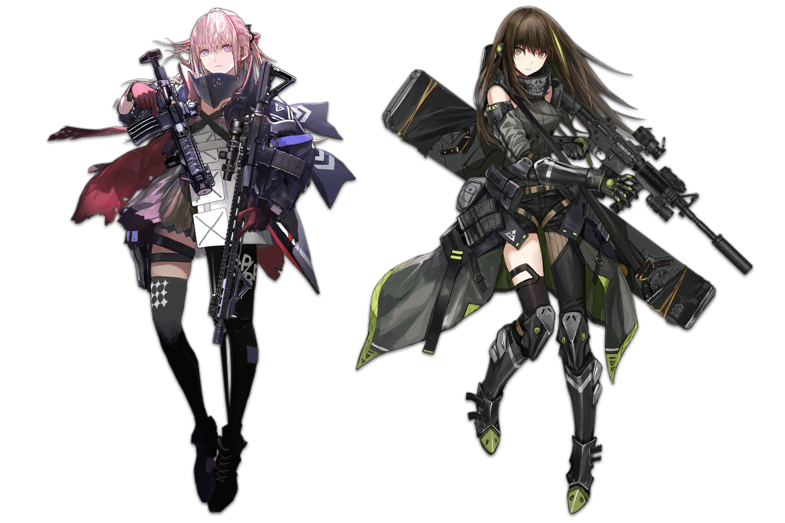 Neural Upgrade MOD 3 Art for AR-15 and M4A1