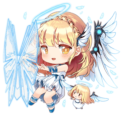 Shield Fairy stage 3 art from Girls' Frontline