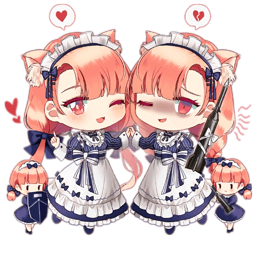 Twin Fairy stage 3 art from Girls' Frontline