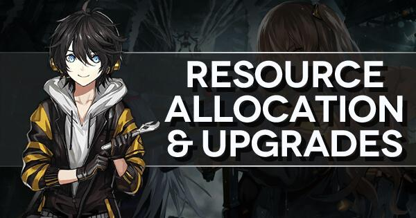 "Main title banner for ""Resource Allocation and Upgrades"" walkthrough"
