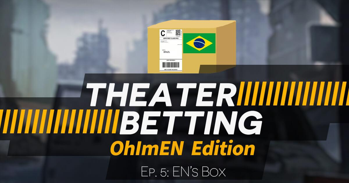 Title card for episode 5 of Theater Betting Season II