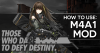 GFL How to use: M4A1 Mod banner