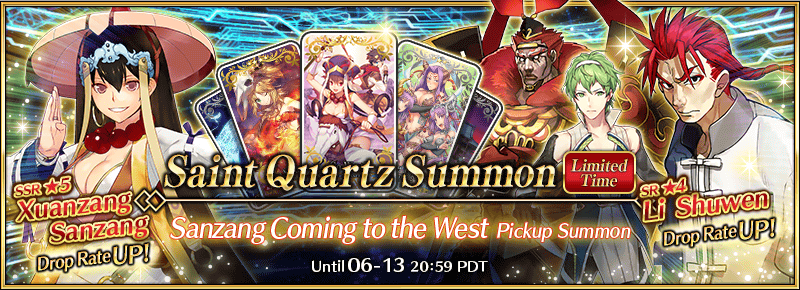 Sanzang Coming to the West Pickup Summon