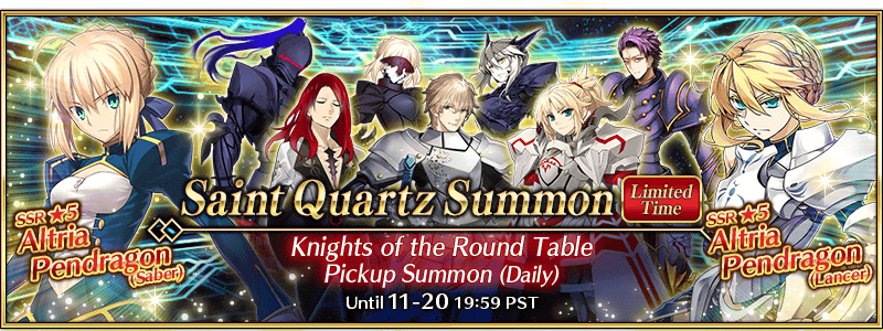 FGO Knights Summon