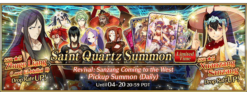 Revival: Sanzang Coming to the West Pickup Summon (Daily)