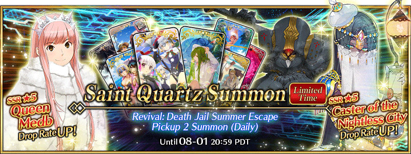 Revival: Death Jail Summer Escape Pickup 2 Summon (Daily)