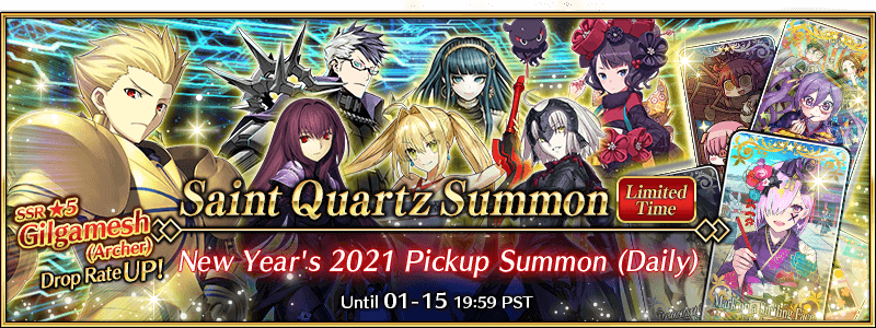 New Year's 2021 Pickup Summon (Daily)