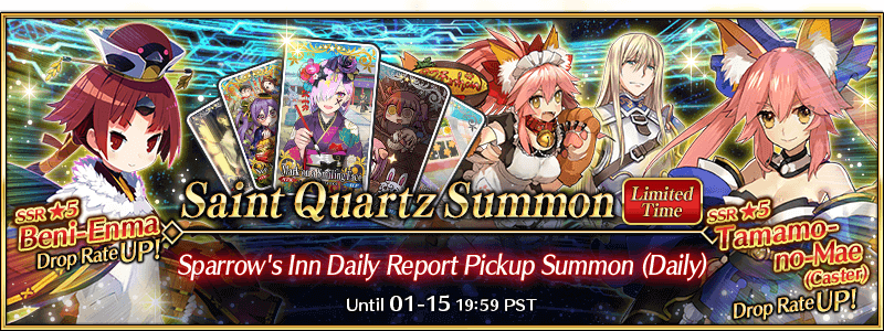 Sparrow's Inn Daily Report Pickup Summon (Daily)