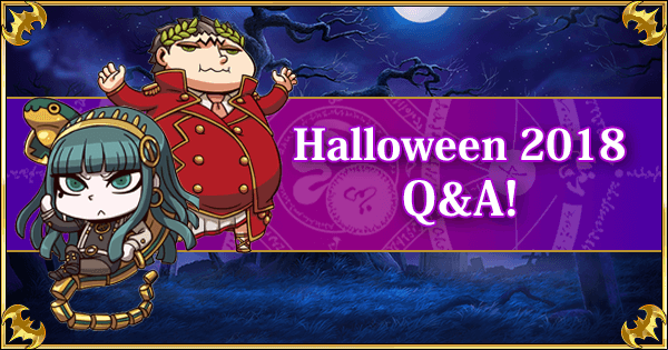 Fate Go Halloween 2020 Gettting A Fifth Hero Elly Learning with GamePress: Halloween 2018 Revival Q&A! | Fate Grand