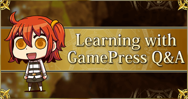 Learning With GamePress! Q&A Series