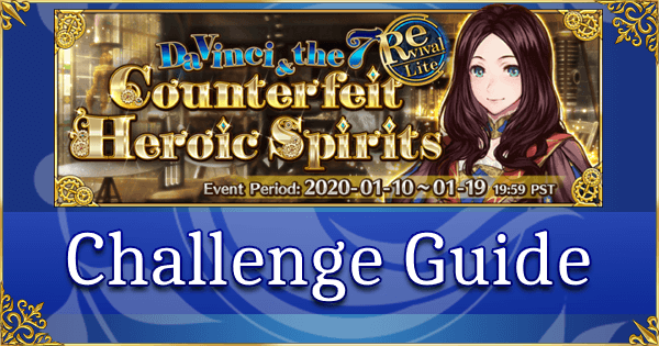 Da Vinci Lite Challenge Quest Guide: Tokimeki Alter Club (Jeanne Alter & Friends)