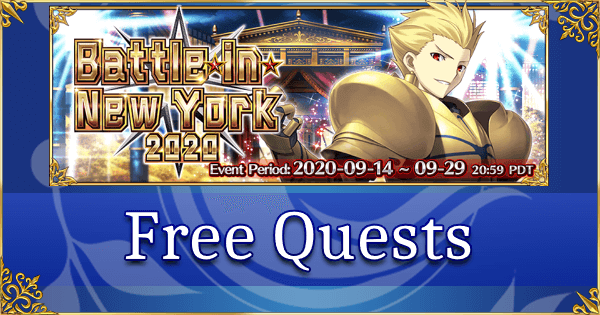 Battle in New York 2020 - Free Quests