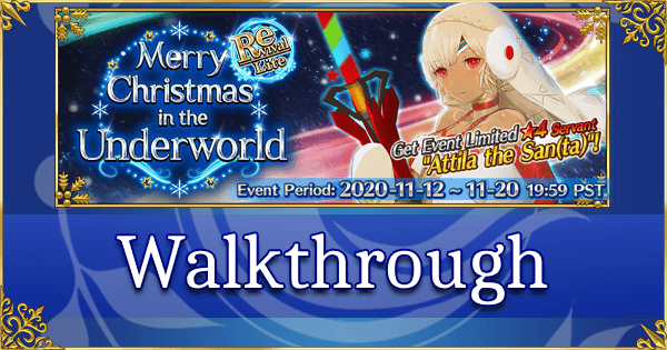 Grand Order Christmas 2020 Guide Revival: Christmas 2019   Quick Farming Guide   Fate Grand Order