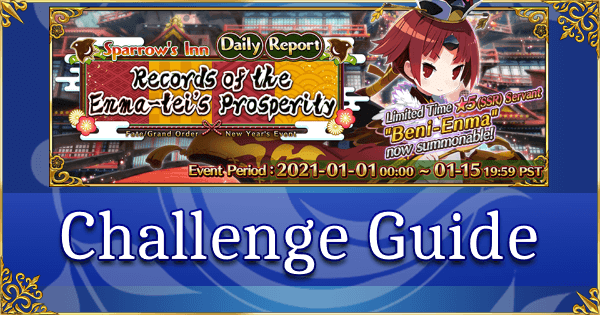 New Year 2021 Challenge Guide - Tokkan Battle! The Strongest Monkey in Humanity! (Beni-Enma)