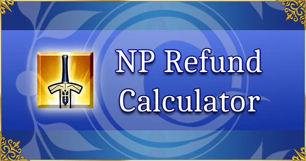 [JP] NP Refund Calculator