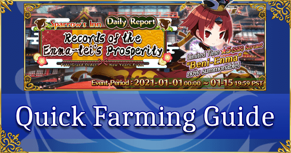 New Year 2021 - Quick Farming Guide